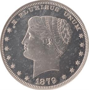1879 J-1633 S$1 PF obverse