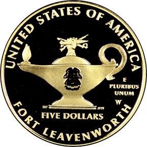 2013 W 5-STAR GENERALS $5 PF reverse