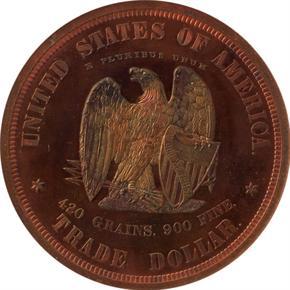 1873 J-1283 T$1 PF reverse