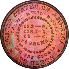 1880 J-1652 S$1 PF reverse