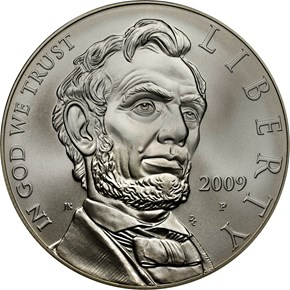 2009 P ABRAHAM LINCOLN S$1 MS obverse