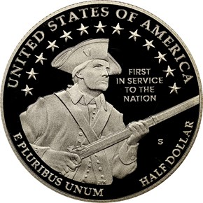 2011 S UNITED STATES ARMY 50C PF reverse