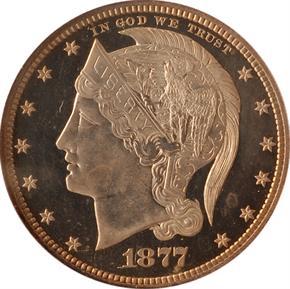 1877 J-1526 50C PF obverse