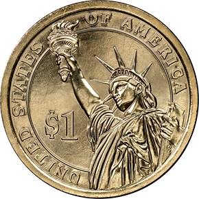 2015 D JOHN F. KENNEDY $1 MS reverse