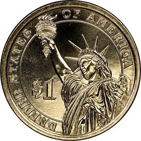 2015 D DWIGHT EISENHOWER $1 MS reverse