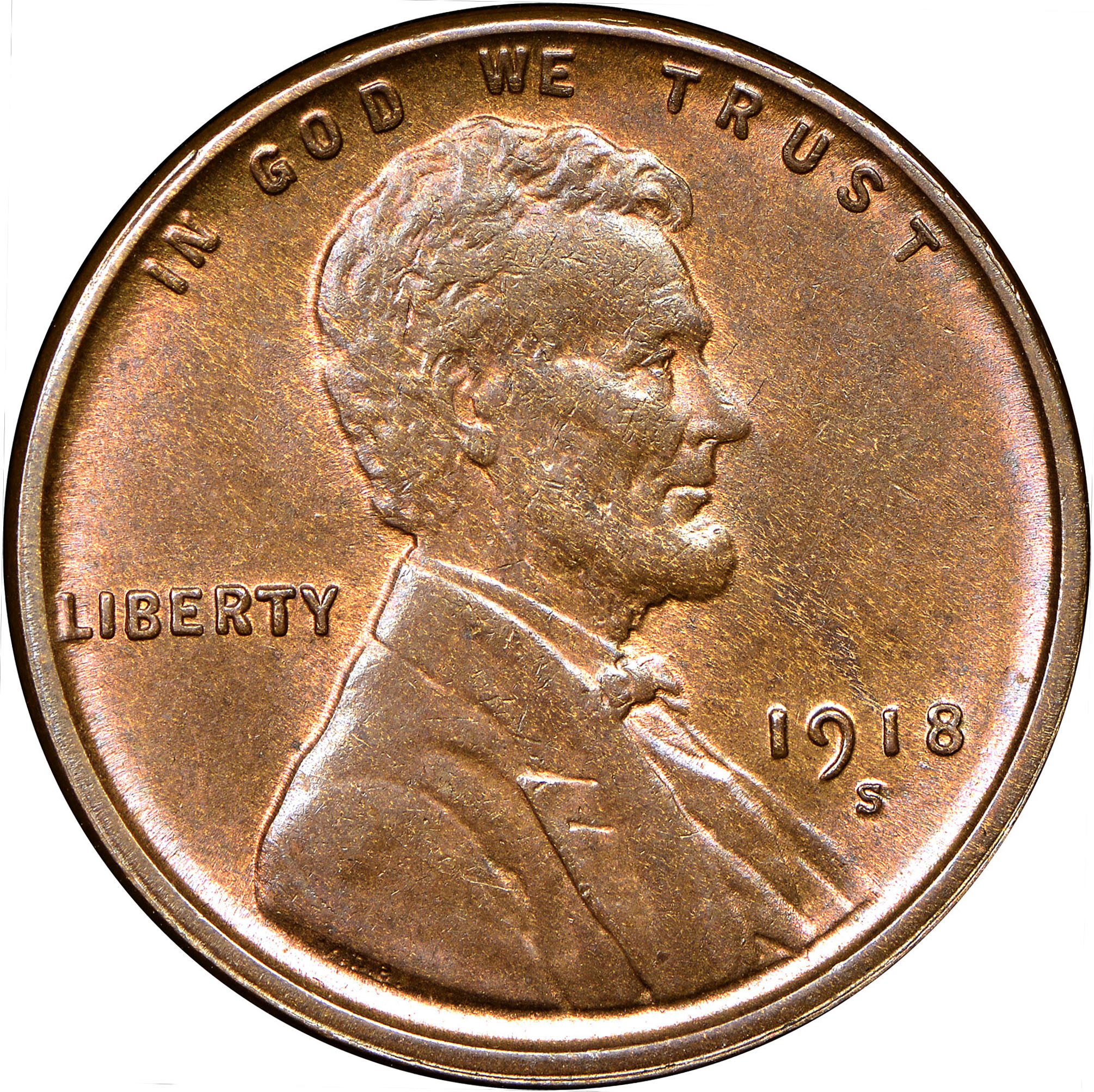 1928-D Lincoln Wheat Cent in Average Circulated Condition      DUTCH AUCTION