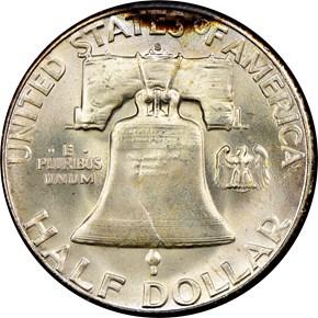 1951 S 50C MS reverse