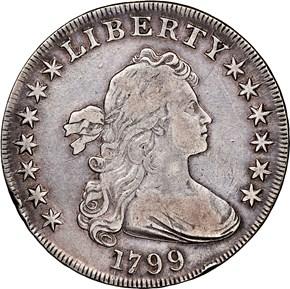1799 $1 MS obverse