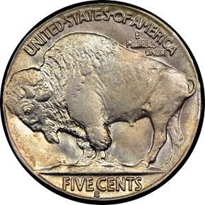 1929 S 5C MS reverse