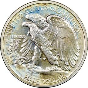 1938 50C PF reverse