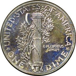 1938 10C PF reverse