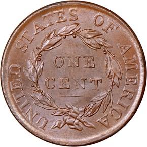 1818 1C MS reverse