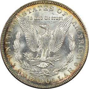 1894 O $1 MS reverse