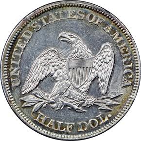 1862 50C MS reverse