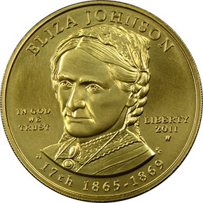 2011 W ELIZA JOHNSON G$10 MS obverse