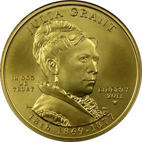 2011 W JULIA GRANT G$10 MS obverse