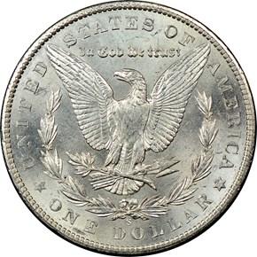 1903 S $1 MS reverse