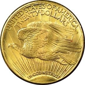 1931 $20 MS reverse