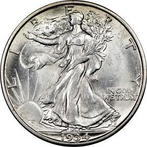 1934 S 50C MS obverse