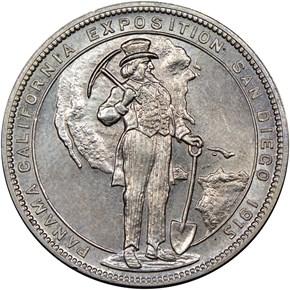1915 CA HK-426 PANAMA-CALIFORNIA EXPO SC$1 MS obverse