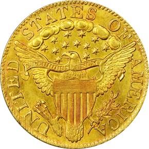 1804 SM/LG 8 $5 MS reverse