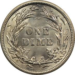 1909 10C MS reverse