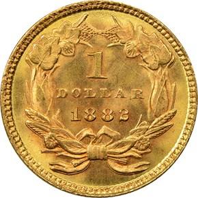 1882 G$1 MS reverse