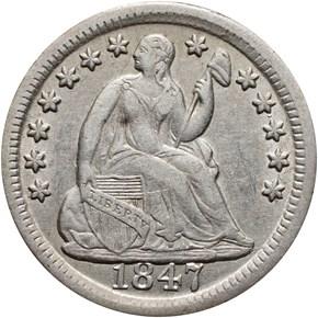 1847 H10C MS obverse