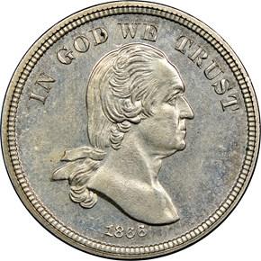 1866 J-467 5C PF obverse