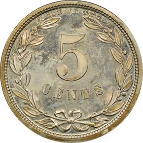 1867 J-570 5C PF reverse