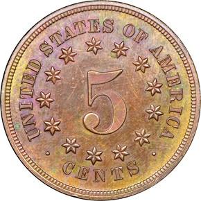 1867 J-573 5C PF reverse