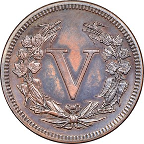 1881 J-1672 5C PF reverse