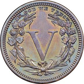 1882 J-1678 5C PF reverse