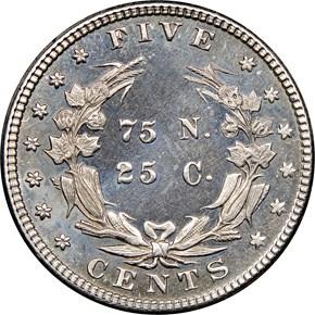 1883 J-1707 5C PF reverse