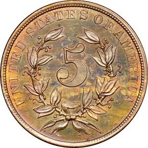 1866 J-491 5C PF reverse