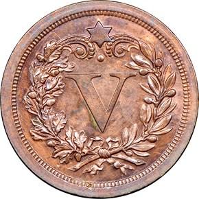 1868 J-632 5C PF reverse