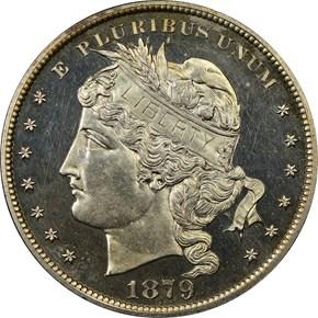1879 J-1626 S$1 PF obverse