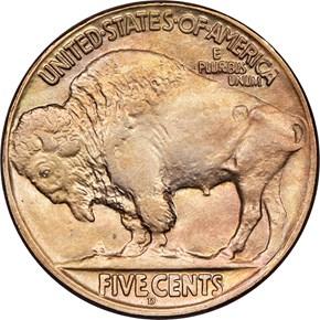 1918 D 5C MS reverse