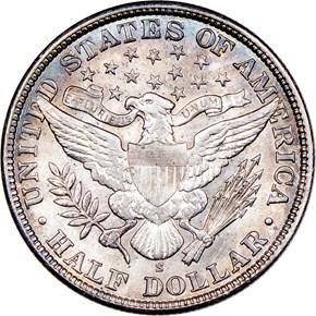 1907 S 50C MS reverse