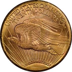 1926 S $20 MS reverse