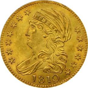 1810 LG DATE LARGE 5 BD-4 $5 MS obverse