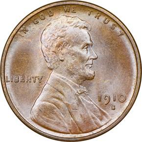 1910 S 1C MS obverse