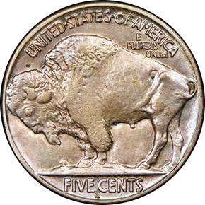 1918 S 5C MS reverse