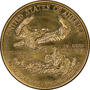 1994 EAGLE G$10 MS reverse