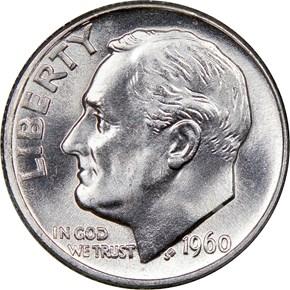 1960 10C MS obverse