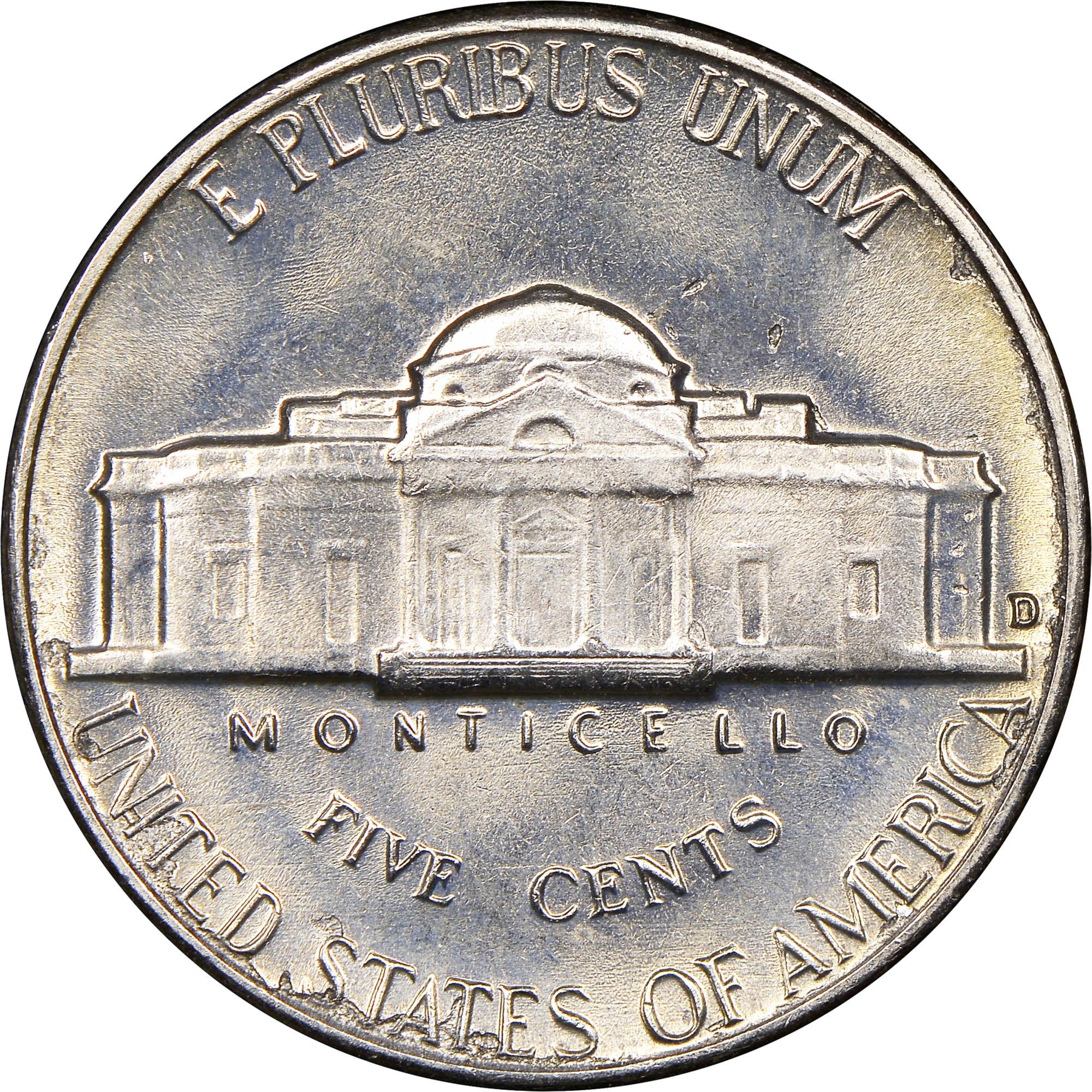 1964 D 5C MS Jefferson Five Cents | NGC