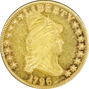 1796 BD-1 $10 SP obverse