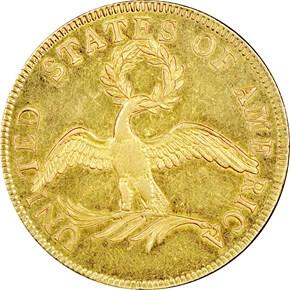 1796 BD-1 $10 SP reverse