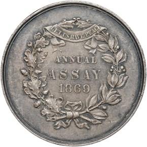 1869 JK-AC-5 U.S. ASSAY COMMISSION AR MS reverse