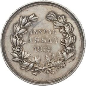 1872 JK-AC-11 U.S. ASSAY COMMISSION AR MS reverse
